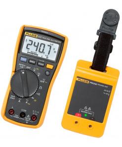 Fluke 117 Multimeter and PRV240 Proving Unit Kit