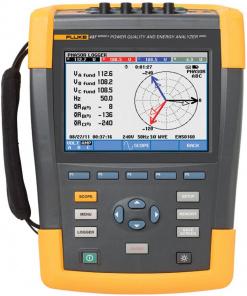 Fluke 437-II/BASIC 400 Hz Power Quality Monitor and Energy Analyzer