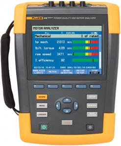 Fluke 438-II/BASIC Power Quality Analyzer & Motor Analyzer