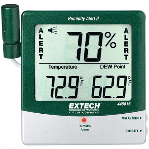 445815: Hygro-Thermometer Humidity Alert with Dew Point